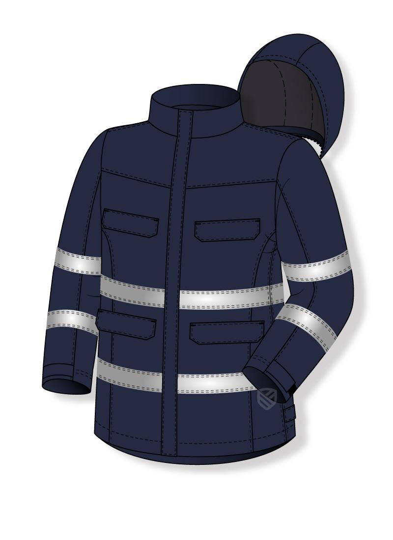 Gepolsterte Multischutz-Jacke - PW KRYSTIAN