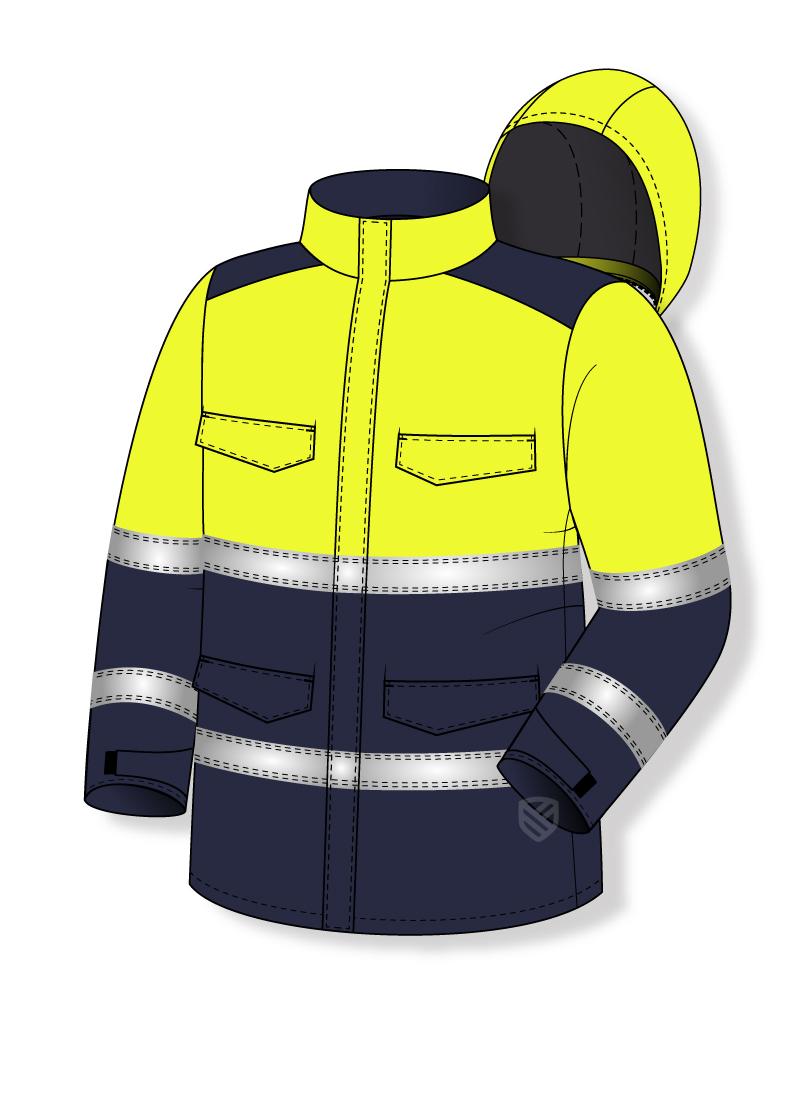 Gepolsterte Multischutz-Jacke
