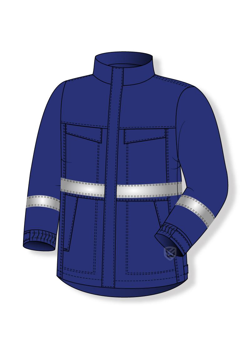 Schutz-Sweatshirt vor Lichtbogenwirkung