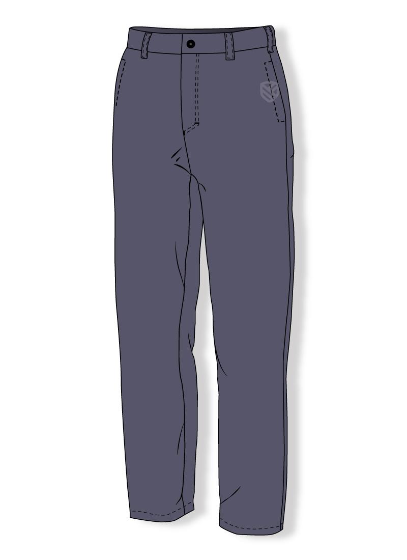 Schwerentflammbare Hose für Schweißer