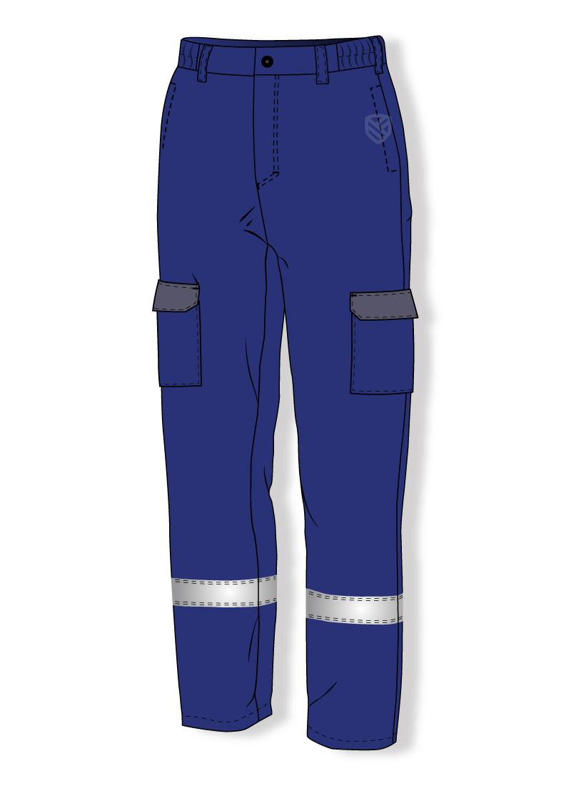 Gepolsterte Multischutz-Hose