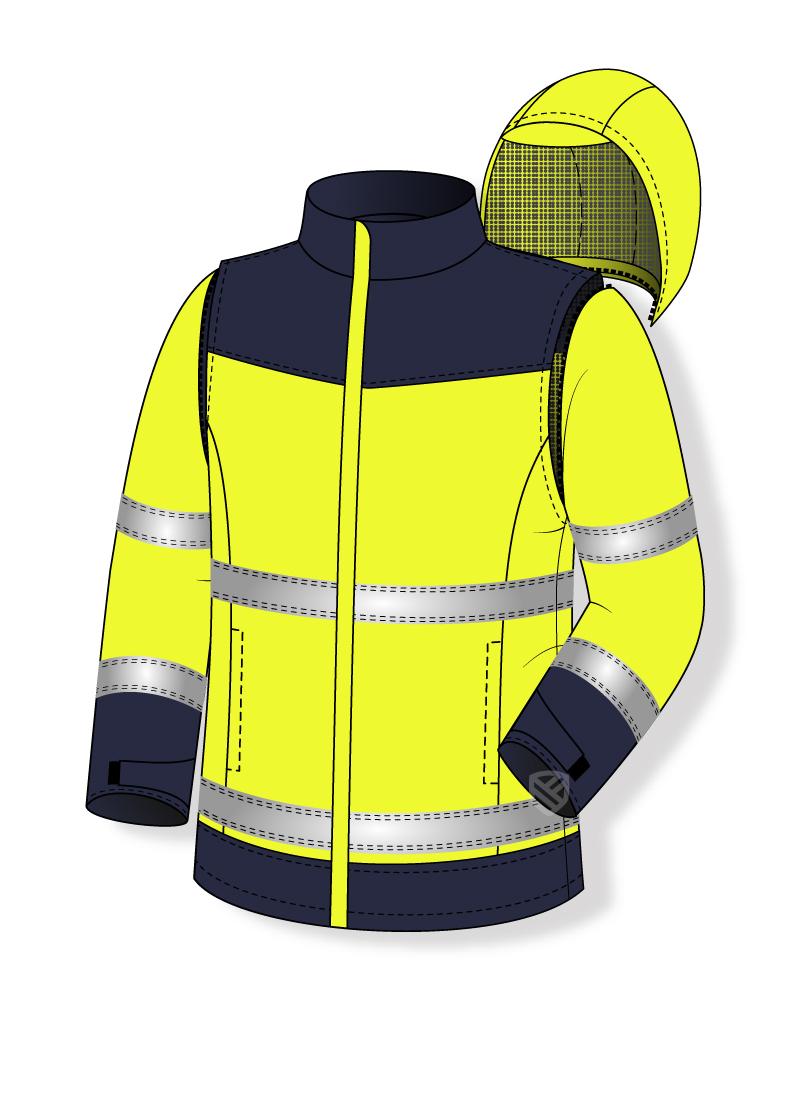 Multischutz-Sweatshirt