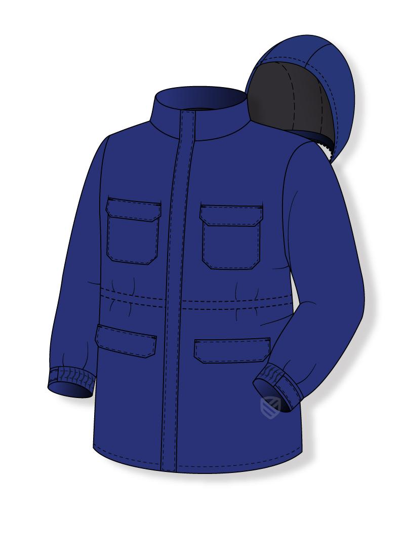 Anti-elektrostatische Jacke
