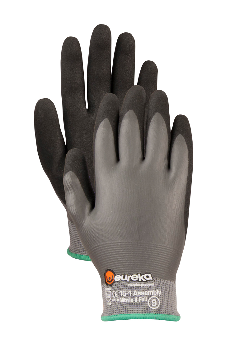 Handschuhe Assembly Nitrile 2 Full EUREKA
