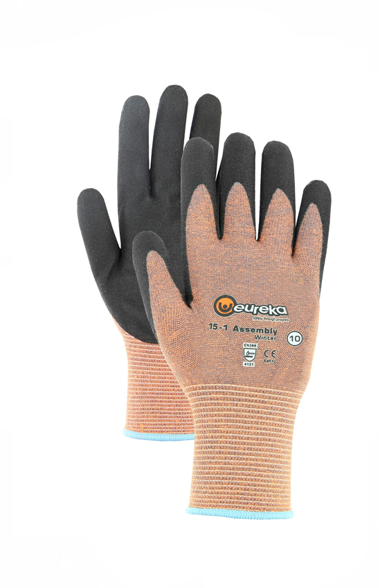 Handschuhe Assembly Winter Nitrile EUREKA