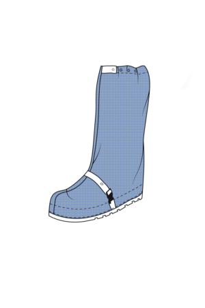 Schuhabdeckung für Reinraumbereiche